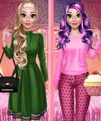 Rapunzel Fashion Day Dress Up Game