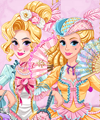 Legendary Fashion Marie Antoinette Dress Up Game