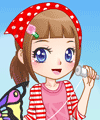 Fly My Kite Dress Up Game
