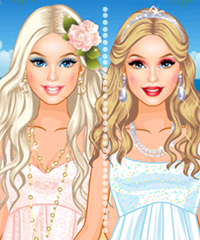 Barbie Tropical Wedding Make Up Game
