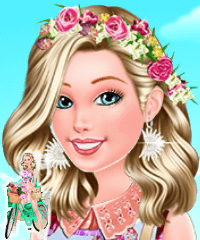 Barbie Bike Luvin Dress Up Game