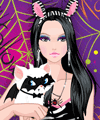 Devilish Kitten Dress Up Game