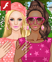 Pink Addict Makeover Game