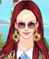 Sweet Tropical Style Dress Up Game