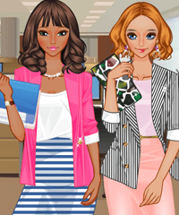 Office Girls Dress Up Game