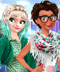 Disney Style Vlog Spring Refreshment Dress Up Game