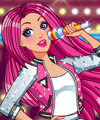 Barbie Rock and Royals Dress Up Game
