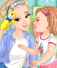 Funny Mom Dress Up Game