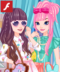 Elsa and Anna Kawaii Trends Game