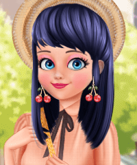 Marinette Ladybug Paris Fashion Game