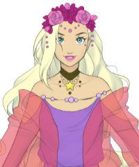 Space Goddess Dollmaker Dress Up Game