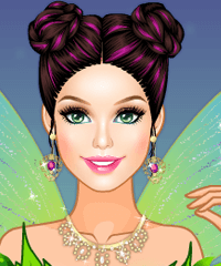 Barbie Glitter Fairy Make Up Game