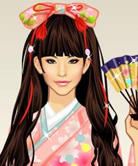 Sakura Season Dress Up Game