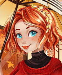 Merida Favorite Autumn Prints Dress Up Game