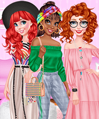 BFFs Crazy Shopping Spree Dress Up Game