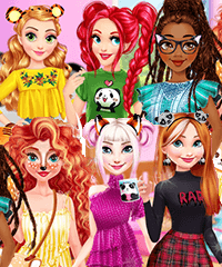 Disney Animal Dress Up Party Game