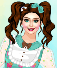 Ruffle Charmer Dress Up Game