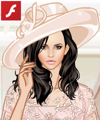 Hats Go Gorgeous Dress Up Game