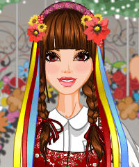 My Country National Costume Dress Up Game