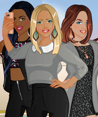 BFF Studio Vlogger Dress Up Game