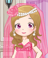 Pink Bride Dress Up Game