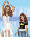 Beyonce Then and Now Dress Up Game