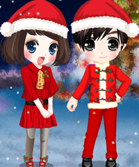 Christmas Wedding 2 Dress Up Game