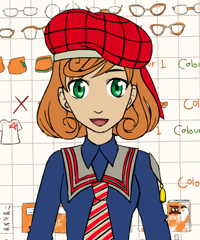 School Uniform 2 Dress Up and Design Game