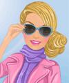 Barbie Visits London Dress Up Game