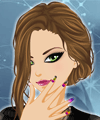 Sunset Nails Design Makeover Game