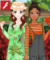 Ready for Spring Dress Up Game
