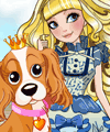 Blondie Lockes Pet Day at School Dress Up Game