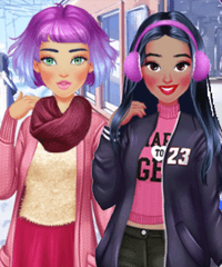 My Cool Season Dress Up Game