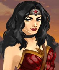 Amazon Warrior Wonder Woman Dress Up Game