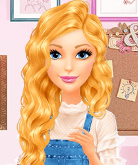 Barbie Get Ready With Me Dress Up Game