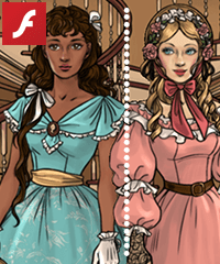 Southern Belle Dress Up Game