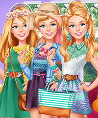 Barbie Summer Patterns Dress Up Game