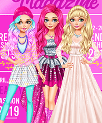 Blondie Fashion Magazine Cover Model Dress Up Game