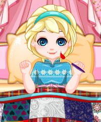 Baby Elsa Patchwork Blanket