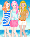 Summer Friends Dress Up Game