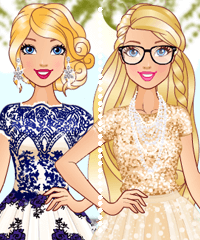 Barbie in Tulle Dresses Game