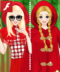 Little Red Riding Hood Today Dress Up Game