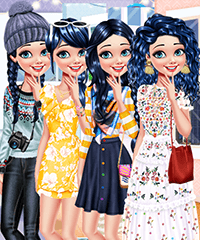 Marinette Travels the World Dress Up Game