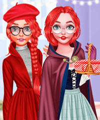 Red Riding Hood Fashionista Dress Up Game