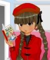 Anime Bookworm Dress Up Game