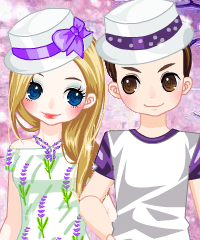 Lavender Love Dress Up Game