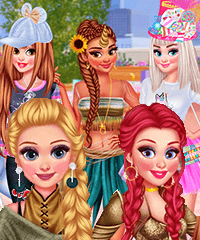 Princess Costume Party Dress Up Game