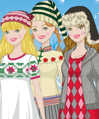 Nordic Winter Dress Up Game