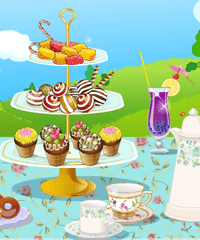 High Tea Party Decoration Game