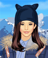 Stylish Down Coats Dress Up Game